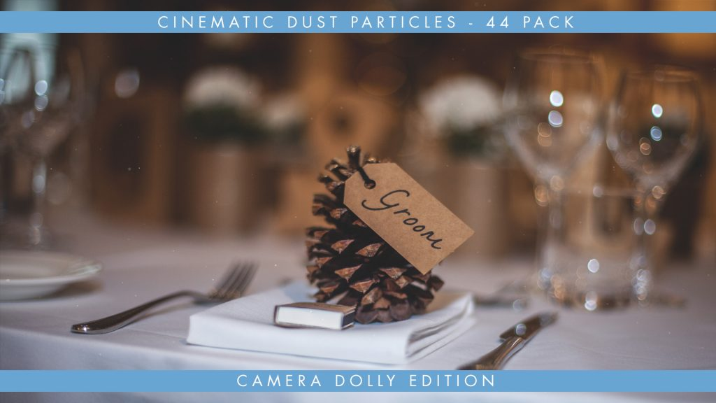 Organic Dust Particle Overlays – Camera Dolly Edition